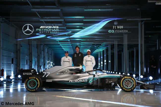 Mercedes AMG - F1 W09 - 2018 - Equipo