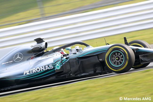 Mercedes AMG - F1 W09 - 2018 - Lewis Hamilton