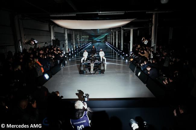 Mercedes AMG - F1 W09 - 2018 - Presentación