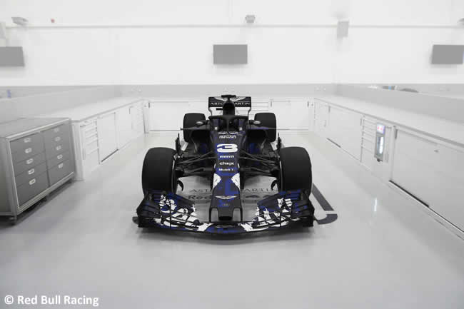 RB14 - Frontal - Red Bull Racing 2018