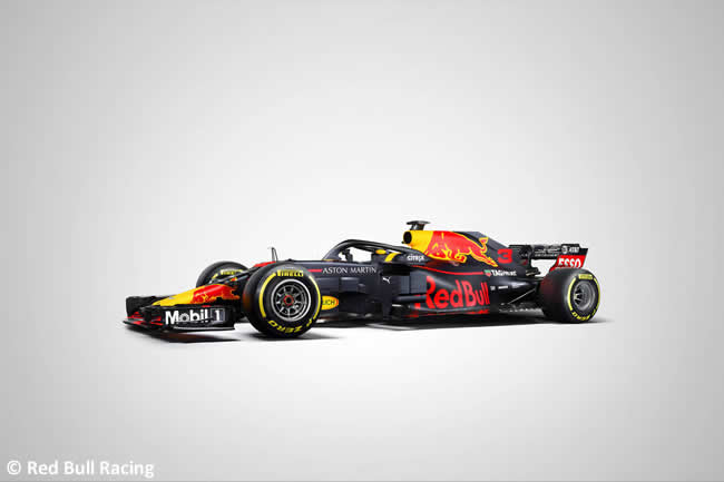 RB14 - Lateral- Red Bull Racing 2018 - Definitivo