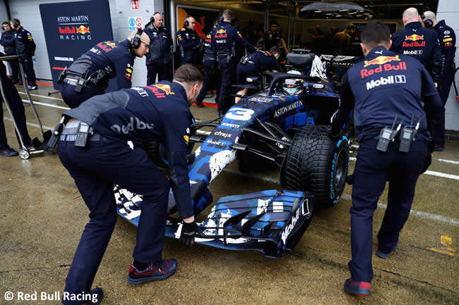 RB14 - Pista Frontal - Red Bull Racing 2018
