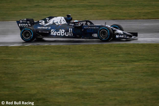 RB14 - Pista Lateral- Red Bull Racing 2018