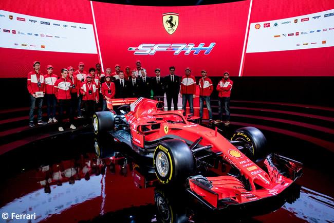 SF71H - Scuderia Ferrari - 2018 - Presentación