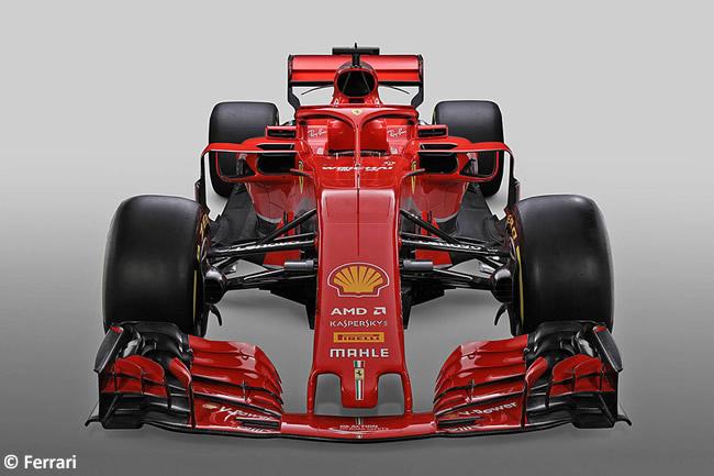 SF71H - Scuderia Ferrari - 2018 - Frontal Alto