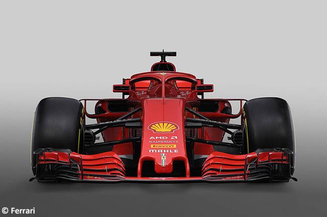 SF71H - Scuderia Ferrari - 2018 - Frontal