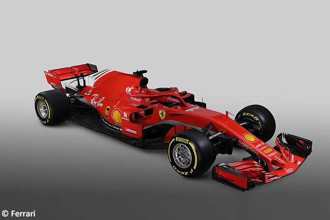 SF71H - Scuderia Ferrari - 2018 - Lateral Frontal