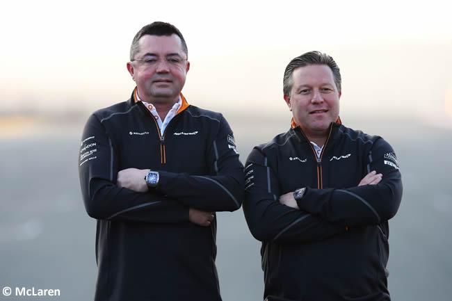 McLaren - Zak Brown y Eric Boullie