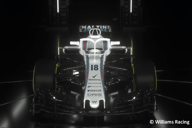 Williams FW41 - Vídeo Presentación - Captura