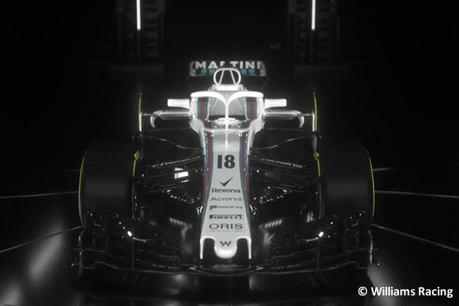 Williams FW41 - Vídeo Presentación - Captura