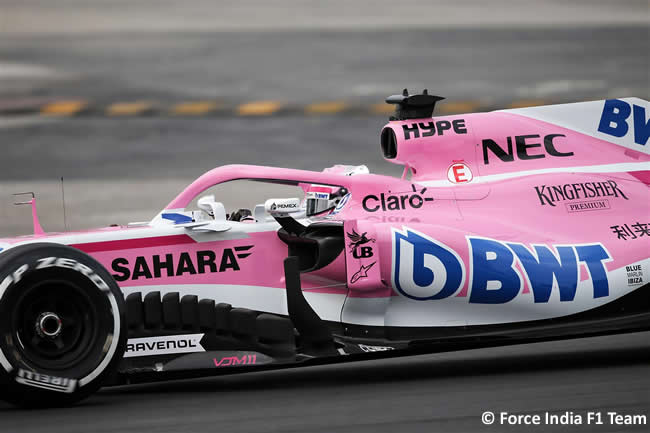 Sahara Force India - VJM11 - 2018 - Pista - Nikita Mazepin #34