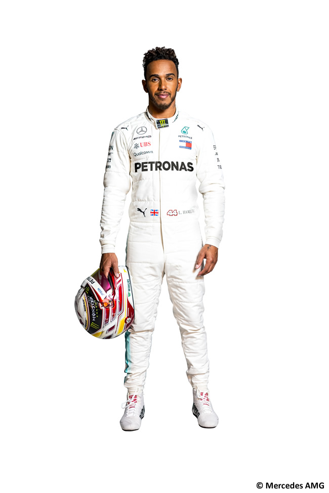 Lewis Hamilton - Mercedes AMG - F1 - 2018