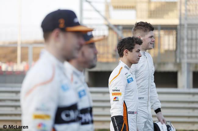 McLaren - Pilotos 2018