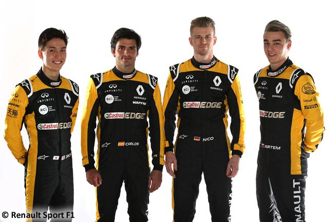 Renault Sport - 2018 - Pilotos