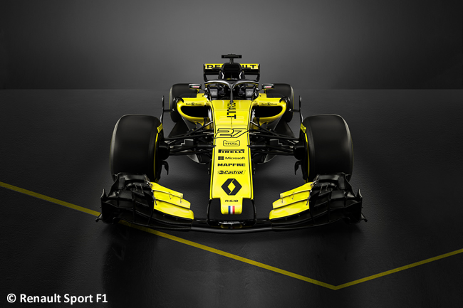 Renault Sport - 2018 - RS18 - Frontal