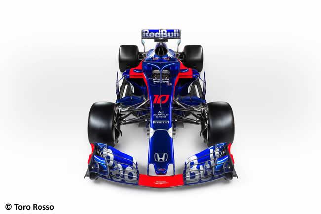 Scuderia Toro Rosso - STR13 - Frontal - Estudio