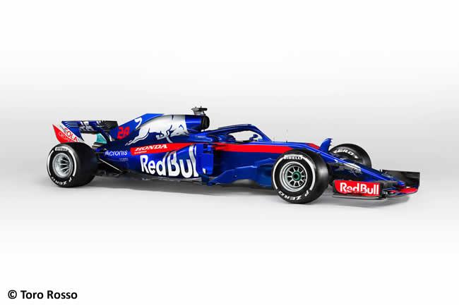 Scuderia Toro Rosso - STR13 - Lateral - Estudio