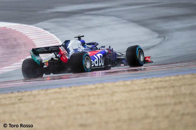 Scuderia Toro Rosso - STR13 - Trasera- Pista - Pierre Gasly