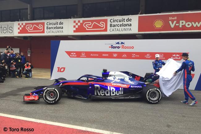 Scuderia Toro Rosso - STR13 - Presentación
