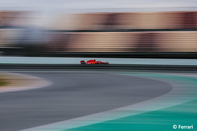 Test Barcelona 1 - Día 2 - Scuderia Ferrari - SF71H - Sebastian Vettel