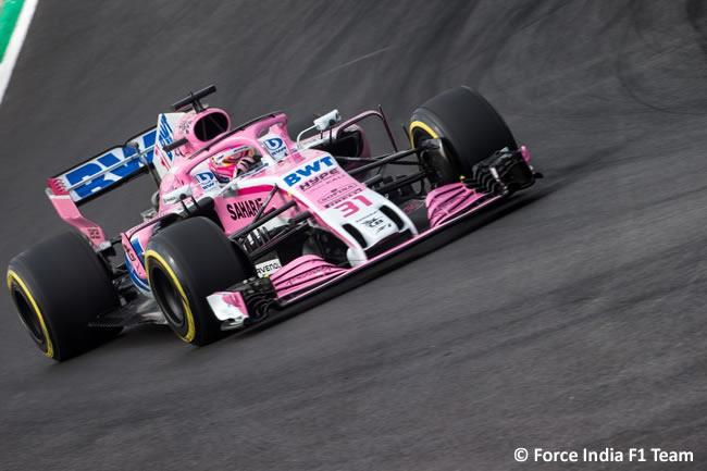 Test Barcelona 1 - Día 2 - Force India - VJM11 - Esteban Ocon
