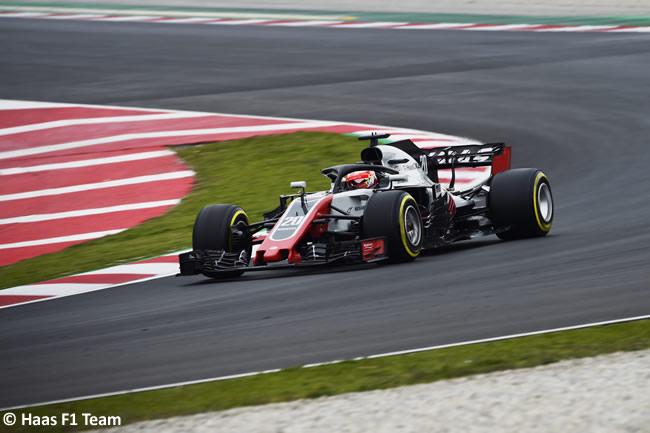 Test Barcelona 1 - Día 2 - Haas F1 - Kevin Magnussen