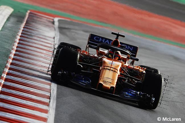 Test Barcelona 1 - Día 2 - McLaren - Stoffel Vandoorne