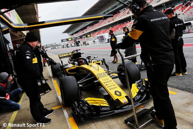 Test Barcelona 1 - Día 2 - Renault Sport - Carlos Sainz