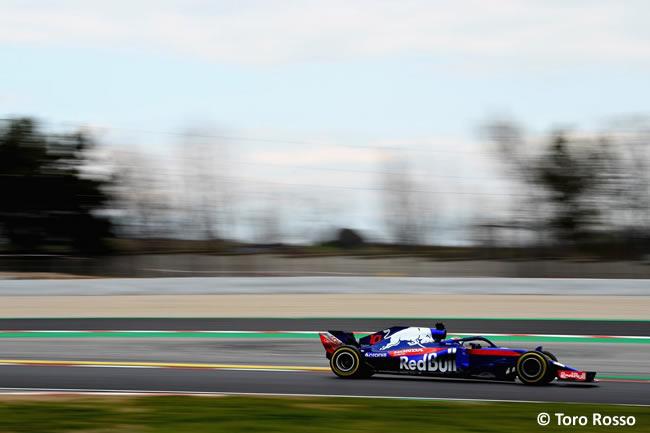 Test Barcelona 1 - Día 2 - Scuderia Toro Rosso - Pierre Gasly