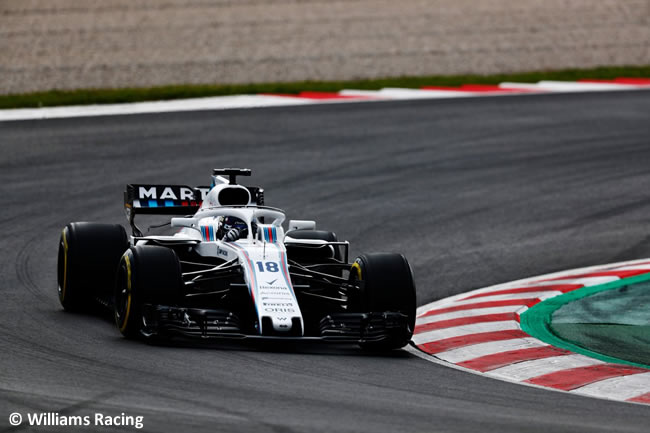 Test Barcelona 1 - Día 1 - Williams - Lance Stroll