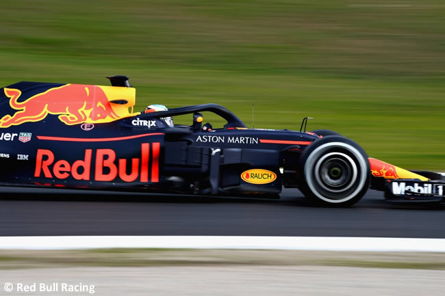 Test Barcelona 1 - Día 1 - Red Bull - RB14 - Daniel Ricciardo