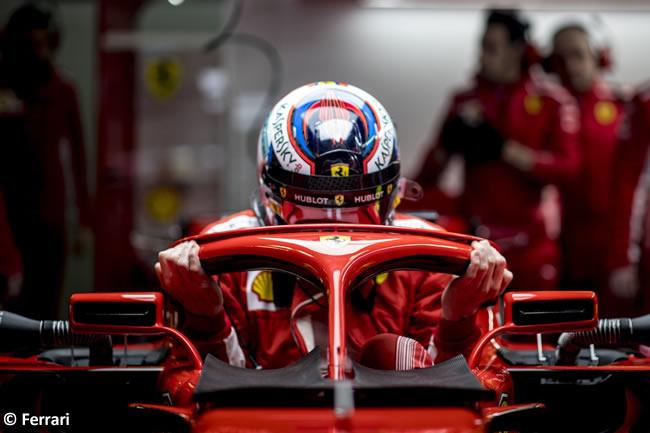 Test Barcelona 1 - Día 1 - Scuderia Ferrari - SF71H - Kimi Raikkonen