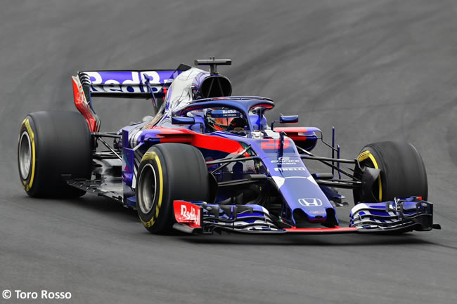 Test Barcelona 1 - Día 1 - Scuderia Toro Rosso - STR13 - Brendon Hartley