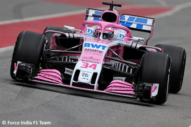 Test Barcelona 1 - Día 1 - Force India - VJM11 - Nikita Mazepin