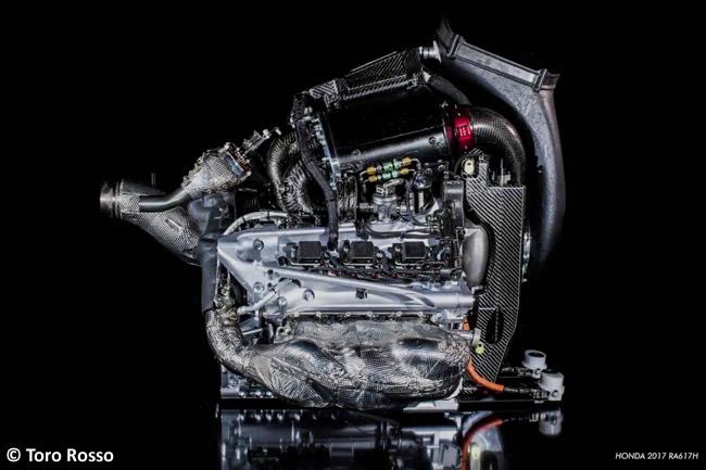 Toro Rosso - Vídeo - Primer encendido - Honda - 2018