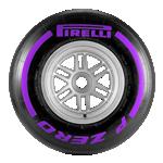 Neumático Pirelli - Ultrasoft - 2018