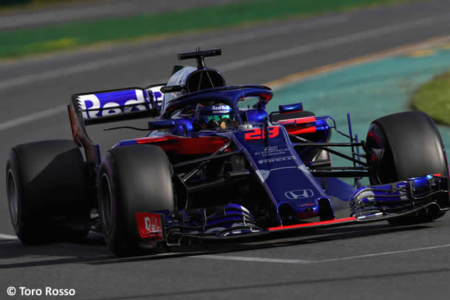 Brendon Hartley - Toro Rosso - Gran Premio de Australia 2018