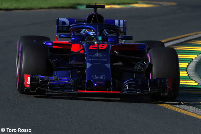 Brendon Hartley - Toro Rosso - Viernes - GP Australia 2018