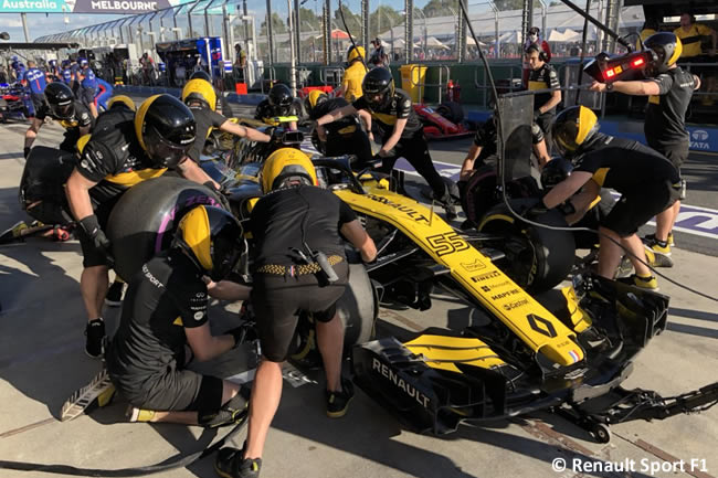 Carlos Sainz - Renault - Viernes - GP Australia 2018