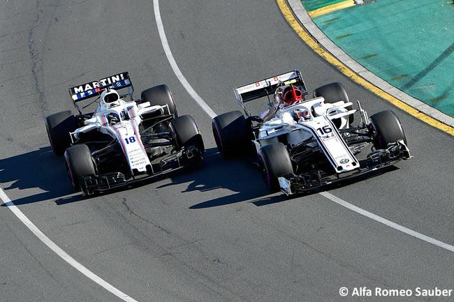 Charles Leclerc- Sauber - Carrera - Gran Premio de Australia 2018