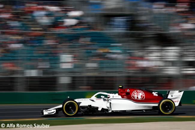Charles Leclerc - Alfa Romeo Sauber - Viernes - GP Australia 2018