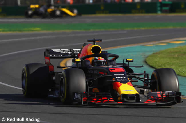 Daniel Ricciardo - Red Bull Racing - Carrera - Gran Premio de Australia 2018