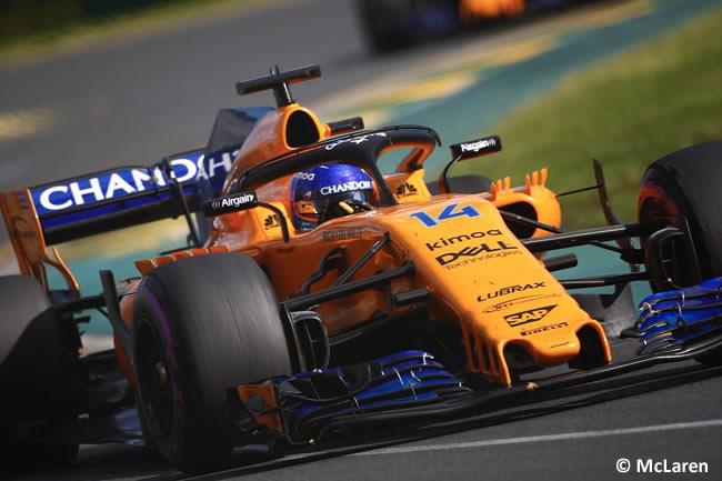 Fernando Alonso - McLaren - Carrera - Gran Premio de Australia 2018