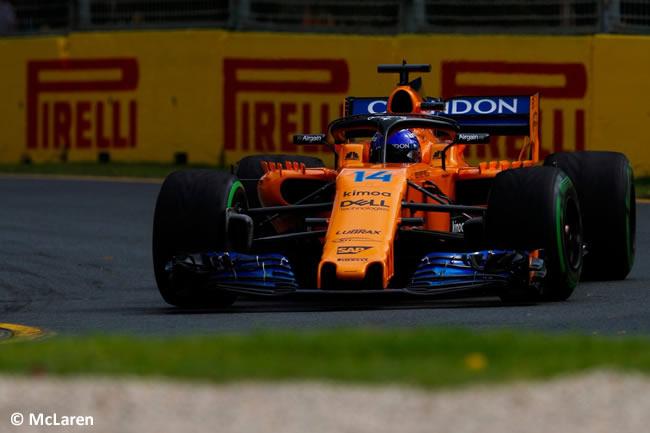Fernando Alonso - McLaren - Gran Premio de Australia 2018