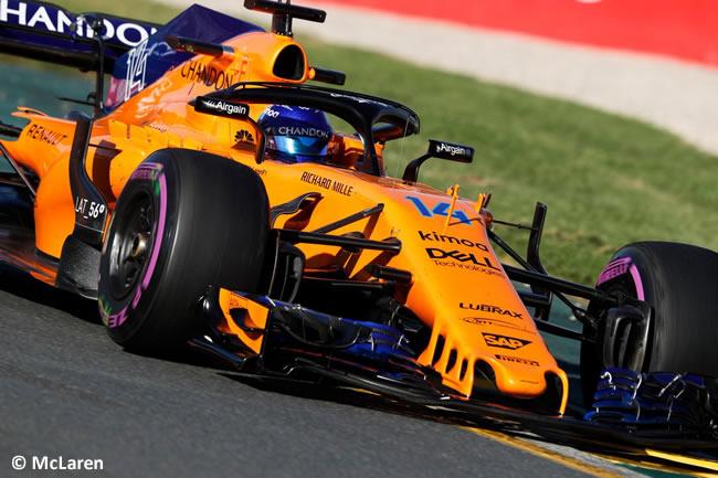 Fernando Alonso - McLaren - Viernes - GP Australia 2018