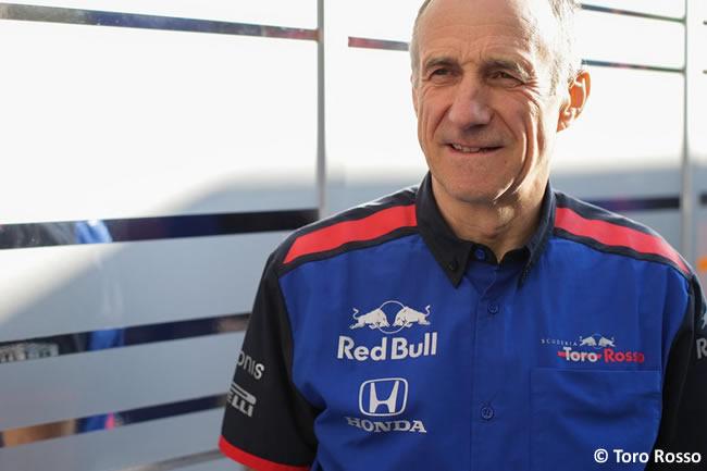 Franz Tost - Toro Rosso - 2018