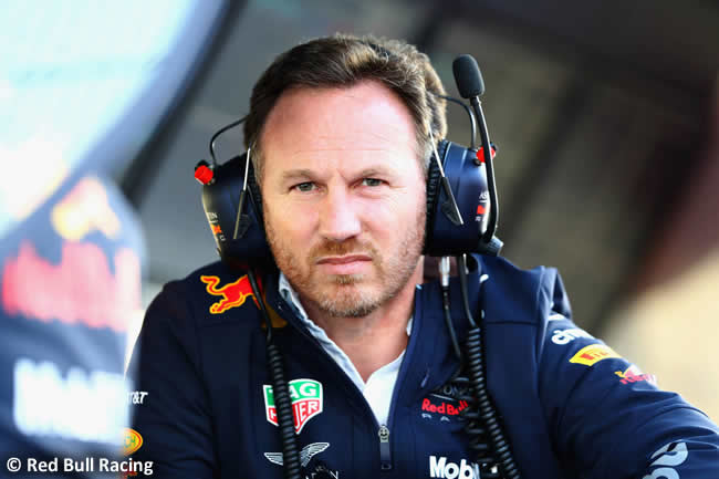 Christian Horner Red Bull Racing 2018