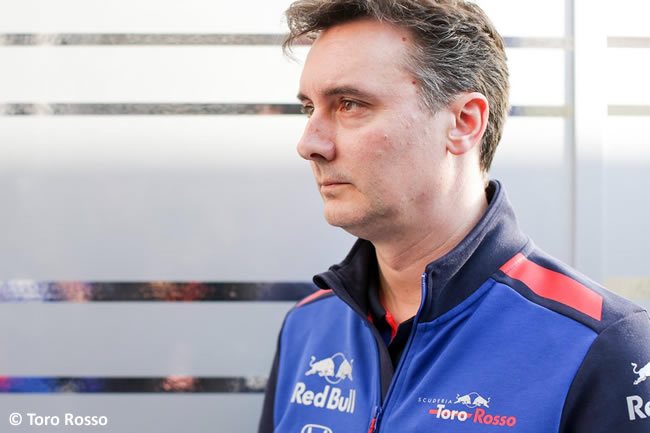 James Key - Toro Rosso - Honda - 2018