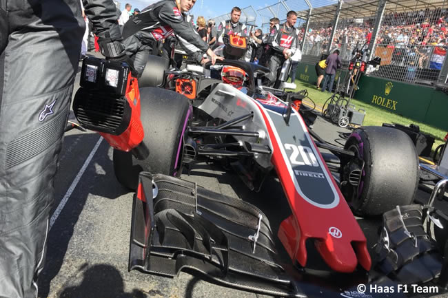 Kevin Magnussen - Haas - Carrera - Gran Premio de Australia 2018