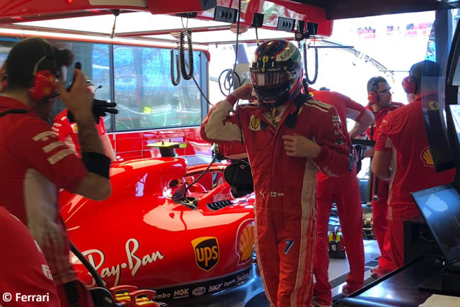 Kimi Raikkonen - Scuderia Ferrari - Viernes - GP Australia 2018
